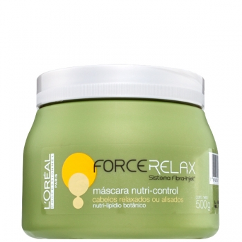 L'Oréal Profissional Force Relax Nutri-Control - Máscara 500g