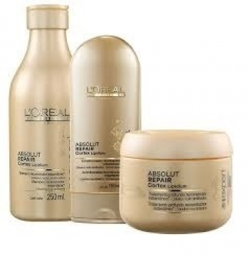 L'Oréal Professionnel Absolut Repair Cortex Lipidium Kit Cliente (3 produtos)