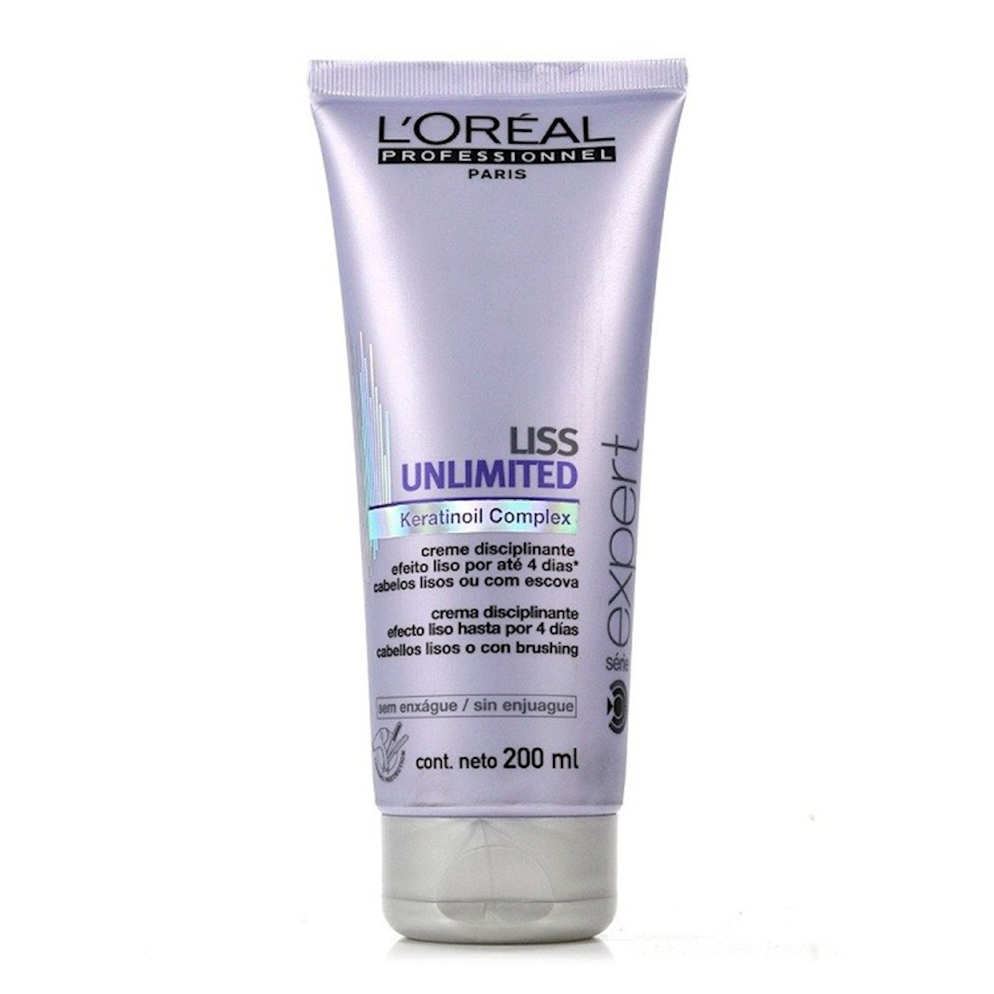 64565f500 L'Oréal Profissional Liss Unlimited Creme Para Pentear 200 g